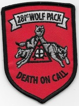 US Army SF 281st Wolf Pack 3rd Platoon Assault Helicopter Company Vietnam Patch - $11.83
