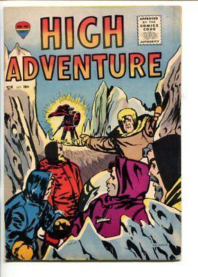 HIGH ADVENTURE #1-1957-BERNIE KRIGSTEIN ART-EXPLORER JOE-SOUTHERN STATES-fn/vf