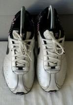 Nike Shox Girls Running Sneakers 309711-001-Metallic Silver Sz 6Y - $29.50