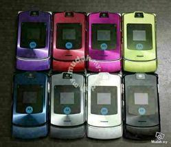 Authentic ORIGINAL Motorola V3i Pinky Flip 100% UNLOCKED 2G Cell Phone WARRANTY image 5
