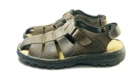 Skechers Sports Sandals Men's Sz13 Brown Leather 47.5 EU 12 UK (tu23ep) - $34.97 CAD