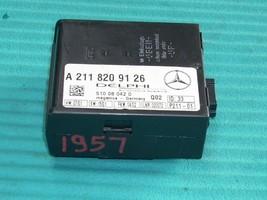 2002 MERCEDES S55 THEFT LOCKING ECM A2118209126 image 1