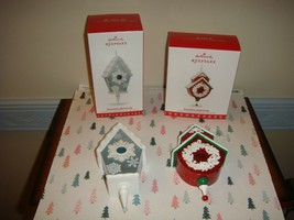 Hallmark 2016 & 2017 Beautiful Birdhouse 1st & 2nd In Series Ornaments - $24.99
