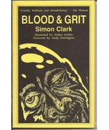 Blood & Grit Paperback Simon Clark Horror Sci-Fi Illustrated By Dallas G... - $44.95