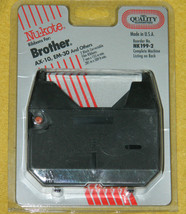 New 2 Nu-Kote Brand Ribbons for Brother AX-10, EM-30, Panasonic and others - $13.06