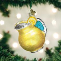 OLD WORLD CHRISTMAS LEMONADE REFRESHING BEVERAGE GLASS CHRISTMAS ORNAMEN... - $11.88