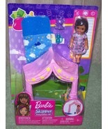 Barbie Skipper BABYSITTERS INC Pink Tent and Baby Playset New - $17.50