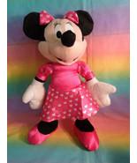 "Disney Kcare Kiu Hung Industries Minnie Mouse Pink Dress Plush Doll 13"" - $5.20"