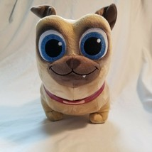 Disney Store Puppy Dog Pals Rolly 12 Inch Plush Dog Sparkly Blue Eyes - $9.89