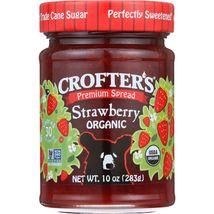Crofters Fruit Spread - Organic - Premium - Strawberry - 10 oz - case of 6 - $29.99+