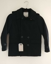 NEW Zara Boys Collection Dress Coat 7-8 Years Designer Winter Holiday Cl... - $54.95
