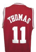 Isiah Thomas #11 College Basketball Jersey Sewn Maroon Any Size image 2