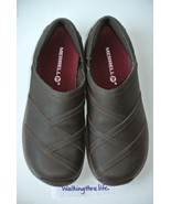 NEW Merrell Jovilee Lattice Womens Sz 5 Brown Leather Mocs Slip-on Shoes... - $44.54