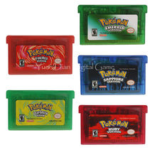 Nintendo GBA Video Game Cartridge Console Card Pokemon Series  English L... - $12.99+