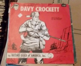 "Walt Disney ""The Ballad of Davy Crockett""  78 The Record Guild of Americ... - $39.85"