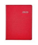 Graphic Image 2020 Weekly Desk Diary Datebook - Pebble Grain (7 x 9) (Red) - $39.59