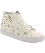 Vans SK8 HI SLIM PERF STARS WHITE Skate Shoes MENS 6.5 WOMENS 8 CLASSICS... - $49.46