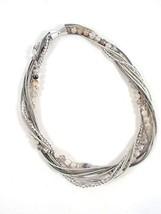 The Island Pearl Piano Wire Necklace - $101.02