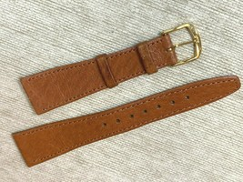 20MM genuine Pig skin soft watch band Vintage design - $18.23