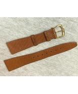 20MM genuine Pig skin soft watch band Vintage design - $18.23
