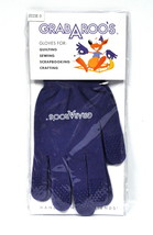 Grab A Roo's Gloves For Quilting  and Sewing Size Large - $11.66