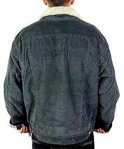Levi's Men's Classic Corduroy Sherpa Fleece Lined Trucker Jacket 705203546 Large image 4