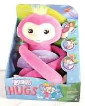 Fingerlings Hugs Bella Interactive Plush Monkey Pink Doll New In Box! 40... - $39.59