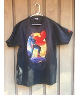 DC Comics SUPERMAN T-Shirt Mens Size LARGE (42-44) Justice League JIM LEE!  - $19.30