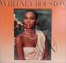 Whitney Houston Autograph *Greatest Love of All* Hand Signed LP - $592.50