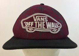 VANS Off The Wall Trucker Snapback Hat Purple Clean No Damage - $24.74