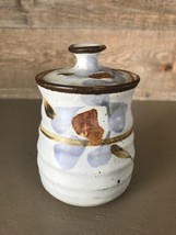 Vintage Pottery Jam or Jelly Jar COndiment Container - $34.85