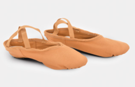 K.H Martin Stretch One Adult Size 7M Flesh Tan Canvas Split Sole Ballet ... - $16.82