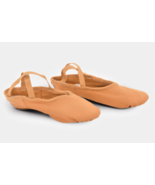 K.H Martin Stretch One Adult Size 7M Flesh Tan Canvas Split Sole Ballet ... - $16.82