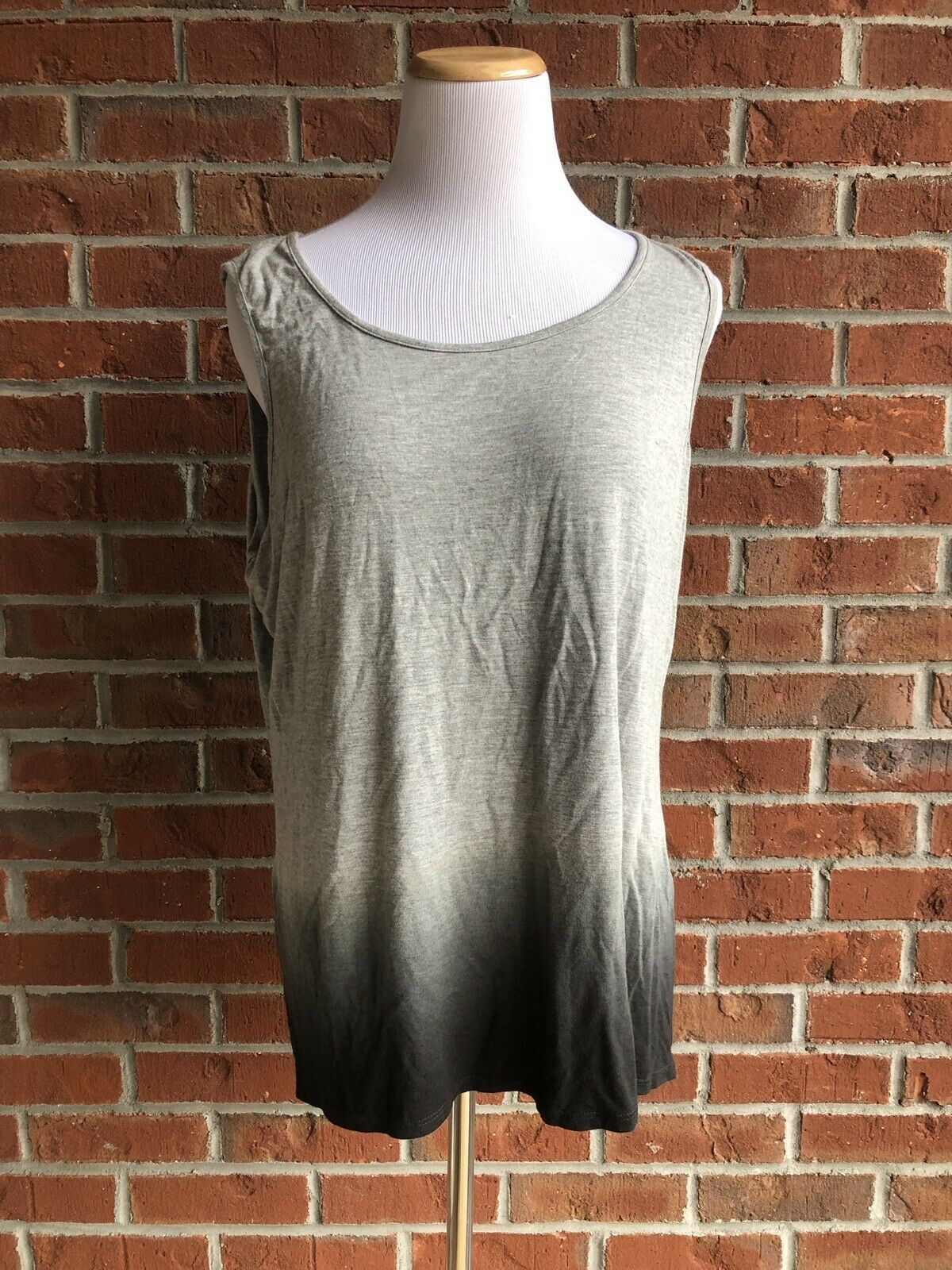 Primary image for Sunday Gray Ombré Tank - Size L