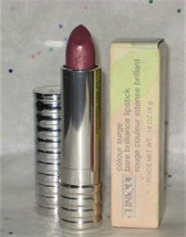 Clinique Colour Surge Bare Brilliance Lipstick in Waterviolet - NIB - $44.95