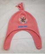 Scooby-Doo Fleece Snow Hat Cap Pink Tassel Velcro Chin Strap Toddler/Chi... - $7.69