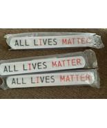 Pack Of 12 ALL LIVES MATTER Slap Bracelets - $8.00