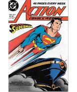 Action Comics Comic Book #617 Superman DC Comics 1988 NEAR MINT NEW UNREAD - $4.99