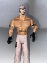 "Rey Mysterio Jakks Pacific Wwe 7"" Wrestling Figure 2005 Pink Pants - $10.40"