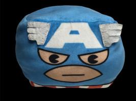 "Disney Marvel Captain America Plush 4"" Mini Cube Avengers Captain America  - $12.82"