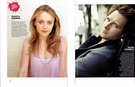 Peter Facinelli Dakota Fanning teen magazine pinup clippings Tiger Beat Twilight