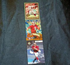 San Francisco 49er's Steve Young #8 QB Football Trading Cards AA-191806 Vintage image 3