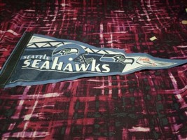 VTG Seattle Seahawks Coca-Cola Safeway Pennant Banner Used - $14.84