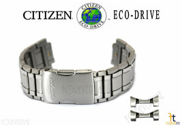 Citizen Eco-Drive AT4011-57L Silver-Tone Titanium Watch Band Strap - $287.95
