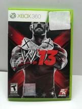 WWE W13 (Microsoft Xbox 360, 2012) No Manual - $15.83