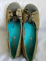 Merrell Women's Size 9.5 Rosella Truss Suede Leather Slip On Flats Olive - $14.99