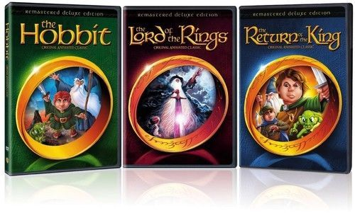 Lord Of The Rings / Hobbit / Return Of The King DVD [New] Animation Cartoon