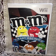 M&M's Kart Racing (Nintendo Wii, 2007) - Complete=Fast Free Shipping= - $7.91