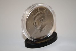 100 Single Coin DISPLAY STANDS for Half Dollar or Quarter Capsules - NEW... - $28.01