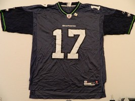 M55 New Reebok Seahawks Mike Williams Men's Blue Jersey Men's XL - €16,77 EUR